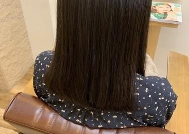 髪質改善オトナ縮毛矯正 毛先にワンカールサムネイル