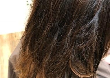 縮毛矯正とカラーサムネイル