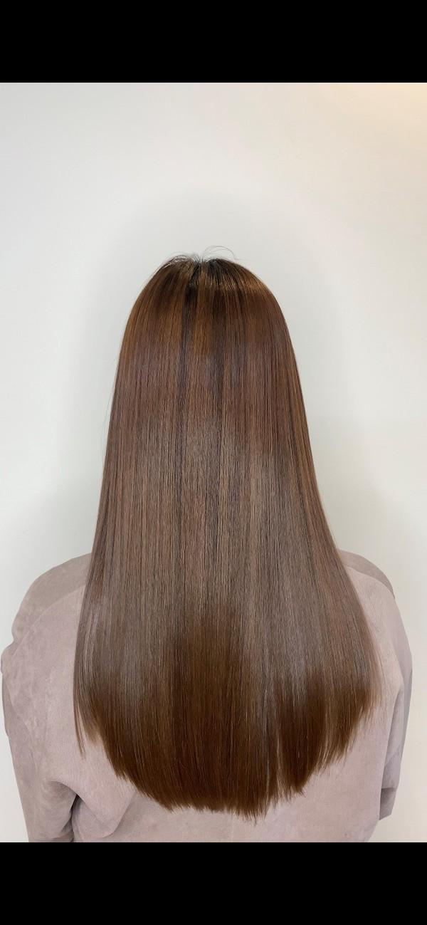 エグチ式縮毛矯正の仕上り、流行りの髪質改善との違いサムネイル